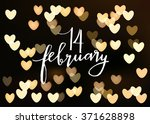 happy valentines day... | Shutterstock .eps vector #371628898