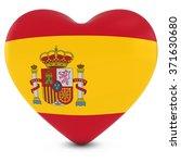 love spain concept image  ... | Shutterstock . vector #371630680