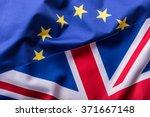 flags of the united kingdom and ... | Shutterstock . vector #371667148