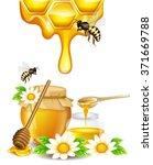 Flocked Honey With Honeycomb ...
