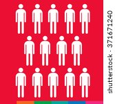 population people icon... | Shutterstock .eps vector #371671240