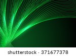 abstract green waves   data... | Shutterstock .eps vector #371677378