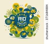 carnival vector illustration.... | Shutterstock .eps vector #371684884