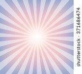 sun sunburst pattern. rose... | Shutterstock .eps vector #371686474