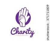 vector clean charity center... | Shutterstock .eps vector #371711809