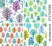 winter  spring  summer and... | Shutterstock .eps vector #371734588