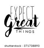 slogan print in vector | Shutterstock .eps vector #371738893