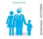 family practice vector...   Shutterstock .eps vector #371753044