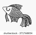 Marine Fish Vector. Fish Marin...
