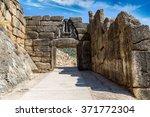 Lion Gate In Mycenae  Greece I...