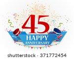 anniversary celebration... | Shutterstock .eps vector #371772454
