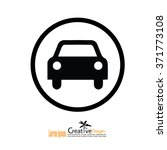 car .car icon. transportation... | Shutterstock .eps vector #371773108