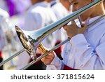 white shirt musician in... | Shutterstock . vector #371815624