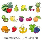 set of color illustrations from ... | Shutterstock .eps vector #371834170
