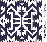 Seamless Vector Tribal Pattern...
