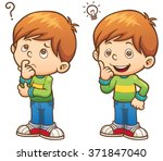 vector illustration of cartoon... | Shutterstock .eps vector #371847040