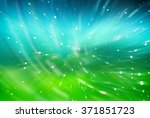 abstract green and blue...   Shutterstock . vector #371851723