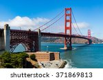 golden gate bridge at daytime | Shutterstock . vector #371869813