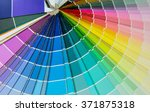 background of color paper chart | Shutterstock . vector #371875318