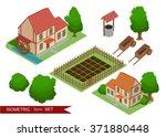 isometric farm. elements for...