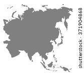 asia map vector | Shutterstock .eps vector #371904868