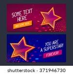 vector illustration of two... | Shutterstock .eps vector #371946730