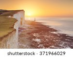 Sunrise Over The Cliffs And...