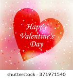 happy valentines day design. | Shutterstock .eps vector #371971540