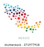 dotted texture mexico vector... | Shutterstock .eps vector #371977918