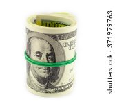 Dollar Roll Tightened With Band....