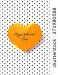 valentine s day background.... | Shutterstock .eps vector #371980588