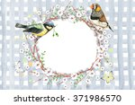 Floral Frame With Birds....
