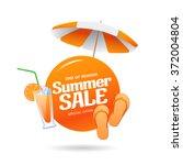 summer sale banner | Shutterstock vector #372004804