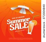 summer sale banner | Shutterstock .eps vector #372004840