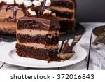 Delicious Dark Chocolate Cake...