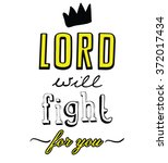 lord type slogan for clothing  | Shutterstock .eps vector #372017434