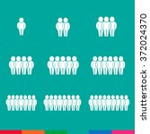population people icon... | Shutterstock .eps vector #372024370