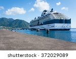 roseau dominica august 8  2011  ... | Shutterstock . vector #372029089