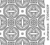 seamless illustrated pattern... | Shutterstock .eps vector #372040339