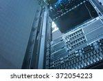 server and array disk storage... | Shutterstock . vector #372054223