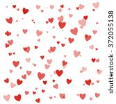 happy valentines day background ... | Shutterstock .eps vector #372055138