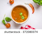Delicious Tomato Soup With Mea...