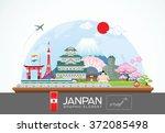 Janpan Infographic Travel Plac...