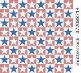 seamless american patriotic...   Shutterstock .eps vector #372088714
