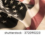 american flag background | Shutterstock . vector #372090223
