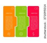 vector paper progress steps for ...   Shutterstock .eps vector #372095014
