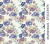 vintage flower   seamless...   Shutterstock .eps vector #372115474