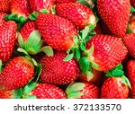 fresh strawberry background... | Shutterstock . vector #372133570