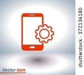 smartphone services icon.