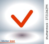 yes icon  vector illustration. ...